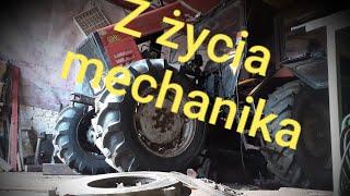 Z życia mechanika maszyn rolniczych