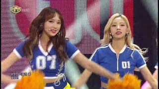 《COSMIC GIRLS》 WJSN – HAPPY 우주소녀 at Inkigayo 170618 kpopchannel.tv