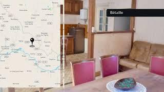 A vendre - Maison/villa - Bétaille (46110) - 4 pièces - 75m²