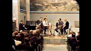 Charles Mingus  Sextet, at the University Aula, Oslo, Norway, april 12th, 1964 (colorized)