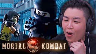 Trailer del film LEGO Mortal Kombat !! [REAZIONE]