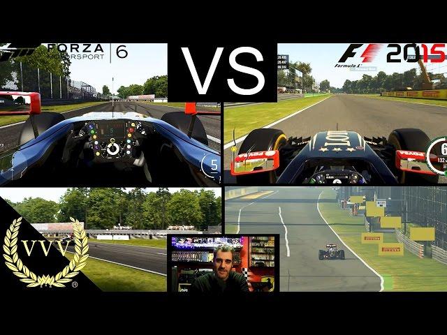 Forza 6 6 F1 Vs F1 2015