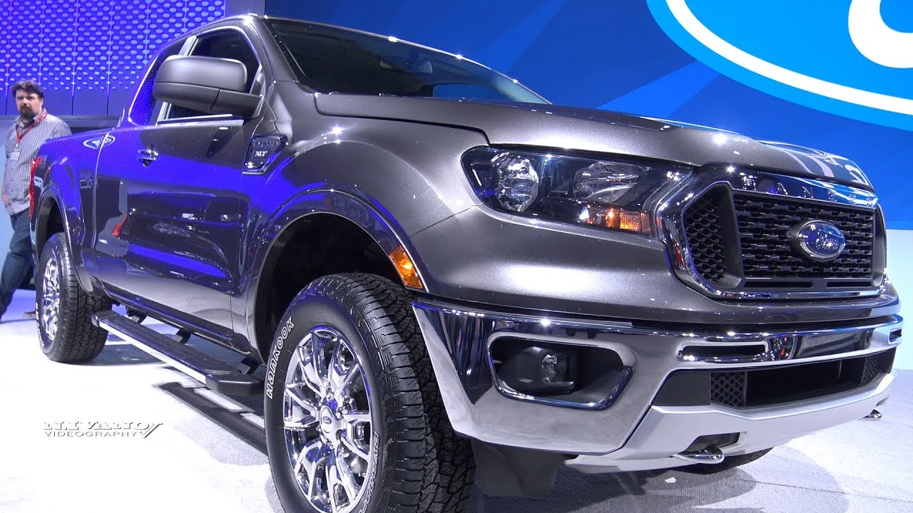 2019 ford ranger xlt exterior and interior walkaround 2018 toronto auto show