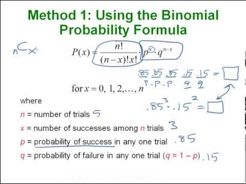 Statistics - Binomial & Poisson Distributions