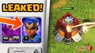 NEW HERO LEAKED! + NEW Siege Barracks! | Town Hall 13 Update Clash of Clans