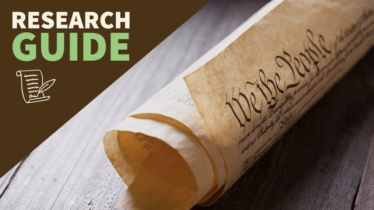 Constitution Research Guide: How to Read an 18th Century Legal Document