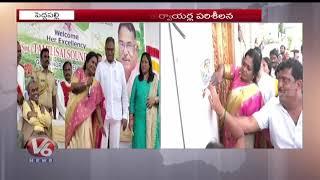 Governor Tamilisai Visit Nandi Pump House |  Kaleshwaram | V6 Telugu News