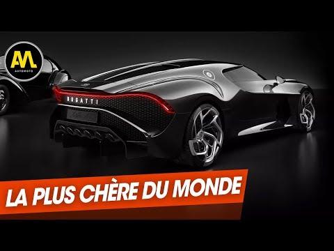 Salon de Genève : Bugatti 'La Voiture noire', la plus chère du monde