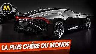 """Salon de Genève : Bugatti """"La Voiture noire"""", la plus chère du monde"""