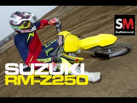 Suzuki Rm Kawasaki Kx250f Prueba Moto Motocross Fullhd