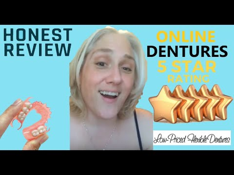 Video Review for Low-Priced Flexible Dentures - YouTube