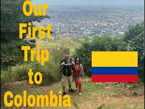 My trip to Colombia - Our first family vacation - VLOG