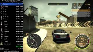 NFS Most Wanted Speedrun - any% glitchless 9:03:12 World Record