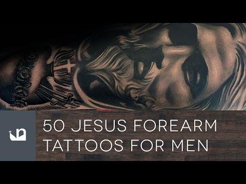 50 Jesus Forearm Tattoos For Men