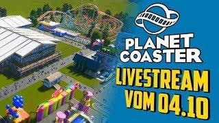 Parktouren und mein Oktoberfest - Planet Coaster   Livestream vom 04.10
