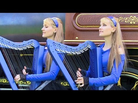 OZZY OSBOURNE  Crazy Train  Harp Twins Camille and Kennerly HARP METAL
