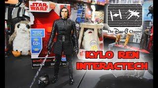 Star Wars The Last Jedi | Kylo Ren Interactech Action Figure | The Dan-O Channel