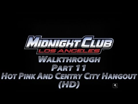 Midnight Club Los Angeles Part 11 Hot Pink And Centry City Hangout (HD)