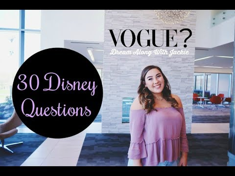 30 Disney Questions in 5 Minutes | DCP Fall Advantage 2018
