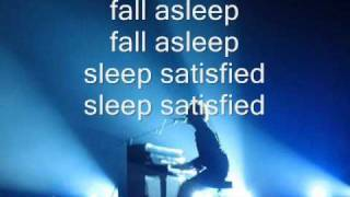 Coldplay - Chinese sleep chant (lyrics)
