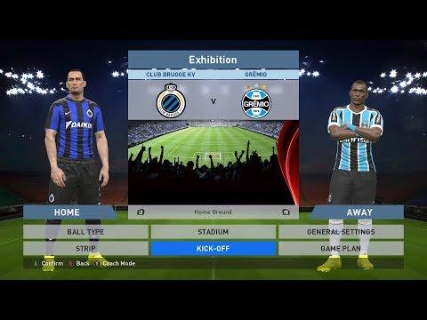 Club Brugge KV vs Gremio, Jan Breydel Stadion, PES 2016, PRO EVOLUTION SOCCER 2016
