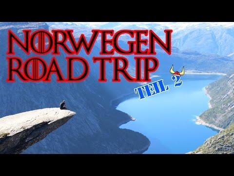 Norwegen Road Trip Teil 2 - (Trolltunga, Oslo)