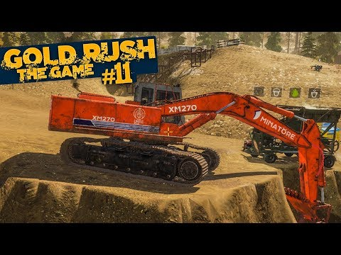 GOLD RUSH: The Game #11: Die Bagger rollen! | GOLDGRÄBER SIM