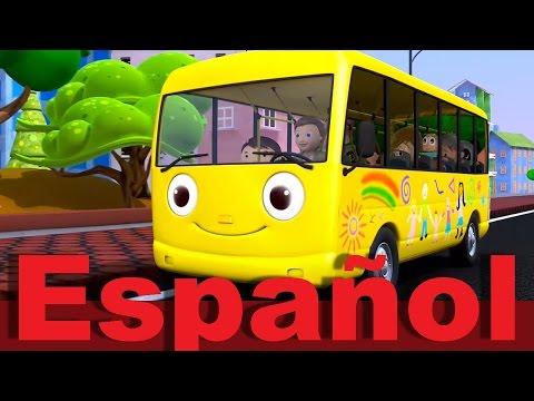 Las ruedas del autobús | Parte 1 | Canciones infantiles | LittleBabyBum