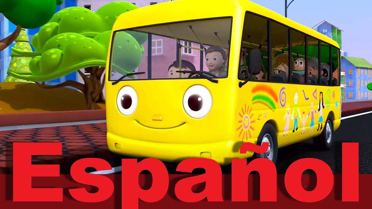 Las ruedas del autobús | Parte 1 | Canciones infantiles ...