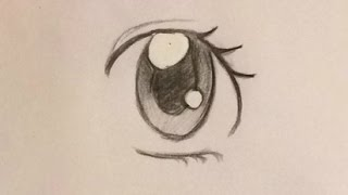 How To Draw Anime Eye /Part 1