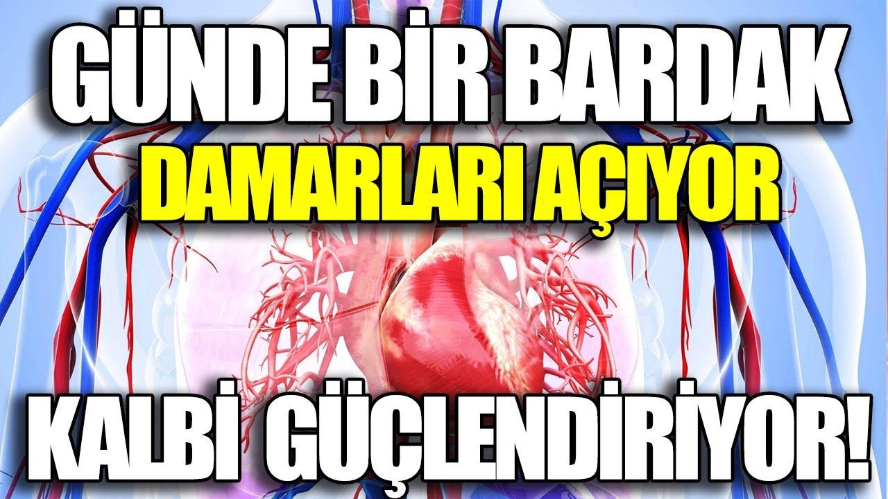 Kalp Damar Tıkanıklığına Günde 1 Bardak Damarları Açıyor