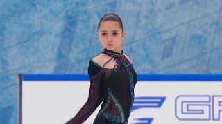 Камила Валиева Произвольная программа Кубок России по фигурному катанию 2020 21 Пятый этап