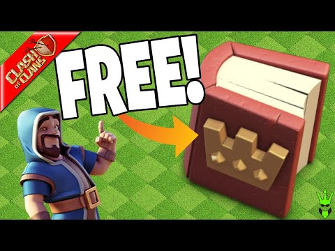 I ALMOST MISSED THIS FREE BOOK OF HEROES! - Clash Of Clans