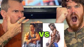 Vidyut Jammwal VS Tiger Shroff Workout    REACTION!!