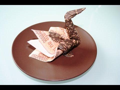 handtuch wickelkunst origami funnydog tv. Black Bedroom Furniture Sets. Home Design Ideas