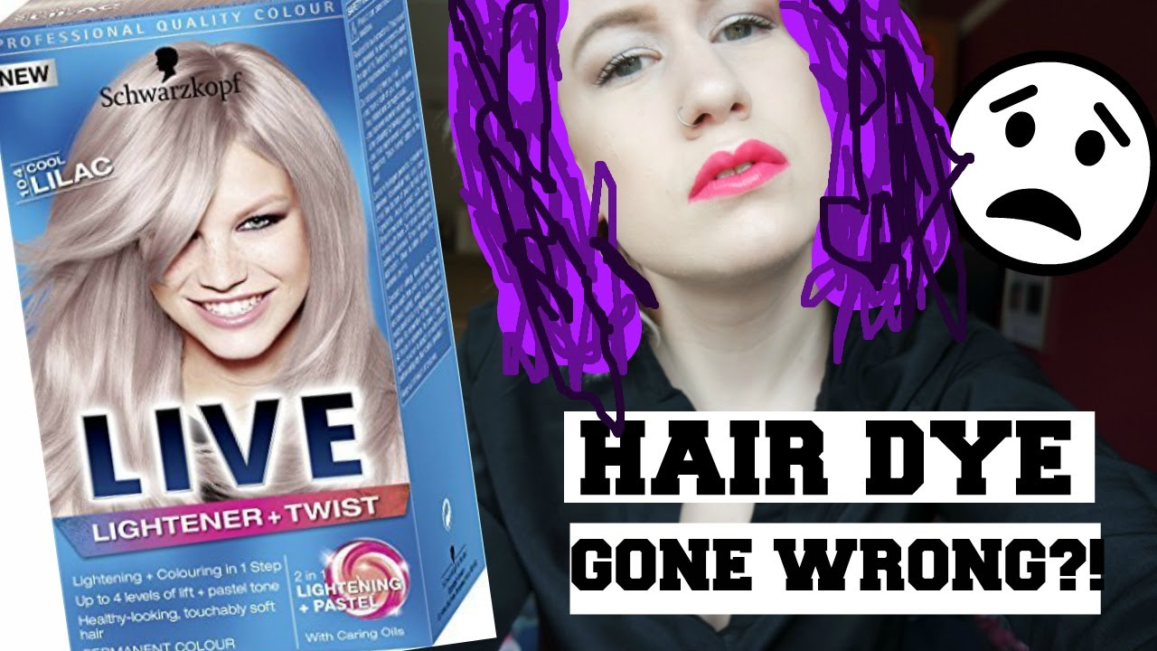 Dying My Hair Cool Lilac And Mini Superdrug Haul Youtube