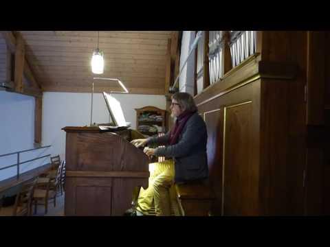 Aurel v. Bismarck Suite für Orgel 10112016