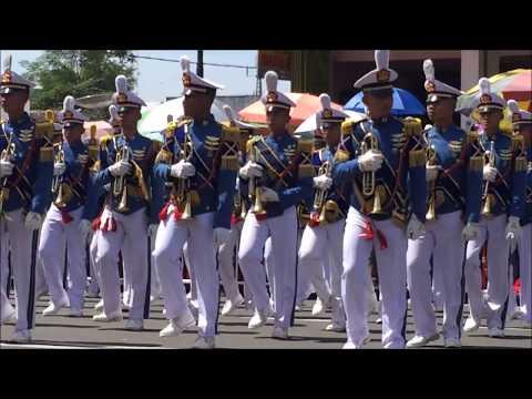 Penampilan Drumband Gita Dirgantara AAU Hari Jadi Wonogiri Ke 276