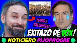 EXITAZO de VOX en VIVA21 que VUELVE LOCO a PEDRO J., y el PSOE quiere que COMAMOS GUSANOS! 🤮 🤮 🤮