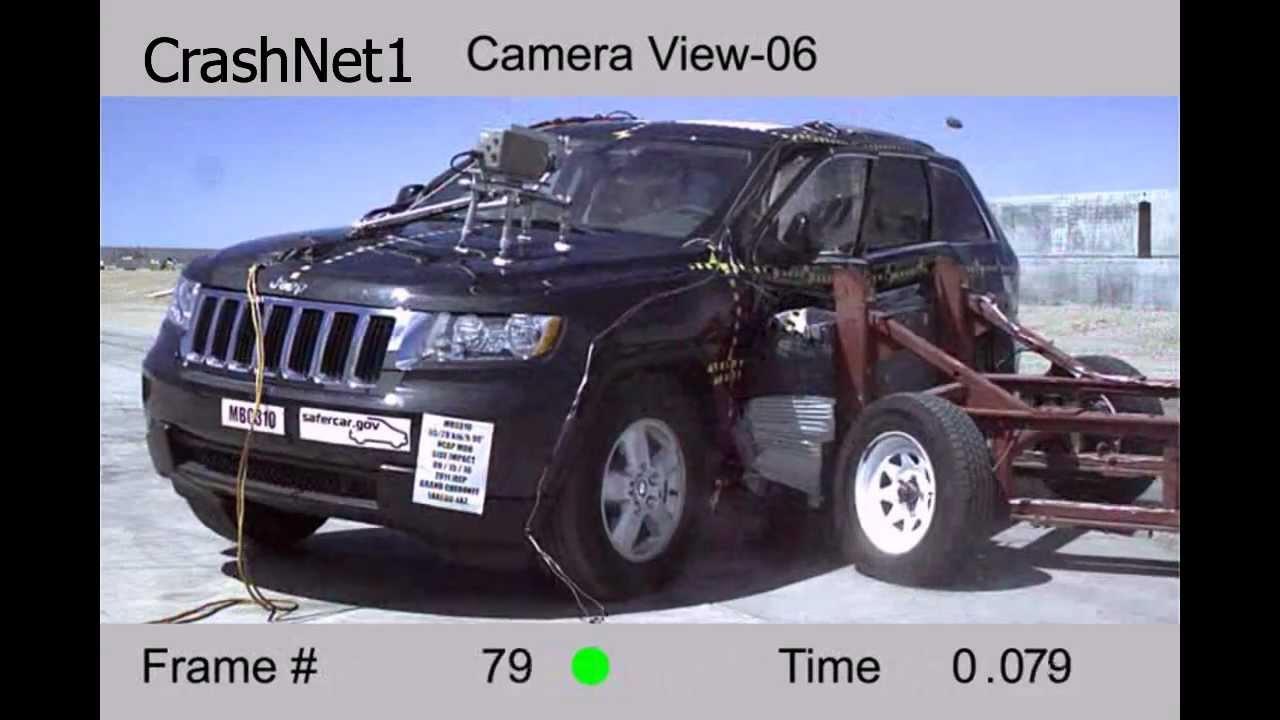 2012 Jeep Grand Cherokee >> Jeep Grand Cherokee   2011   Side Crash Test   NHTSA ...