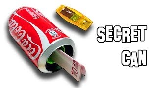 ✔ How to Make Secret Can