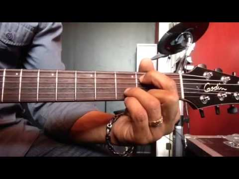 Moving Forward By Israel Houghton -- Guitar Tutorial