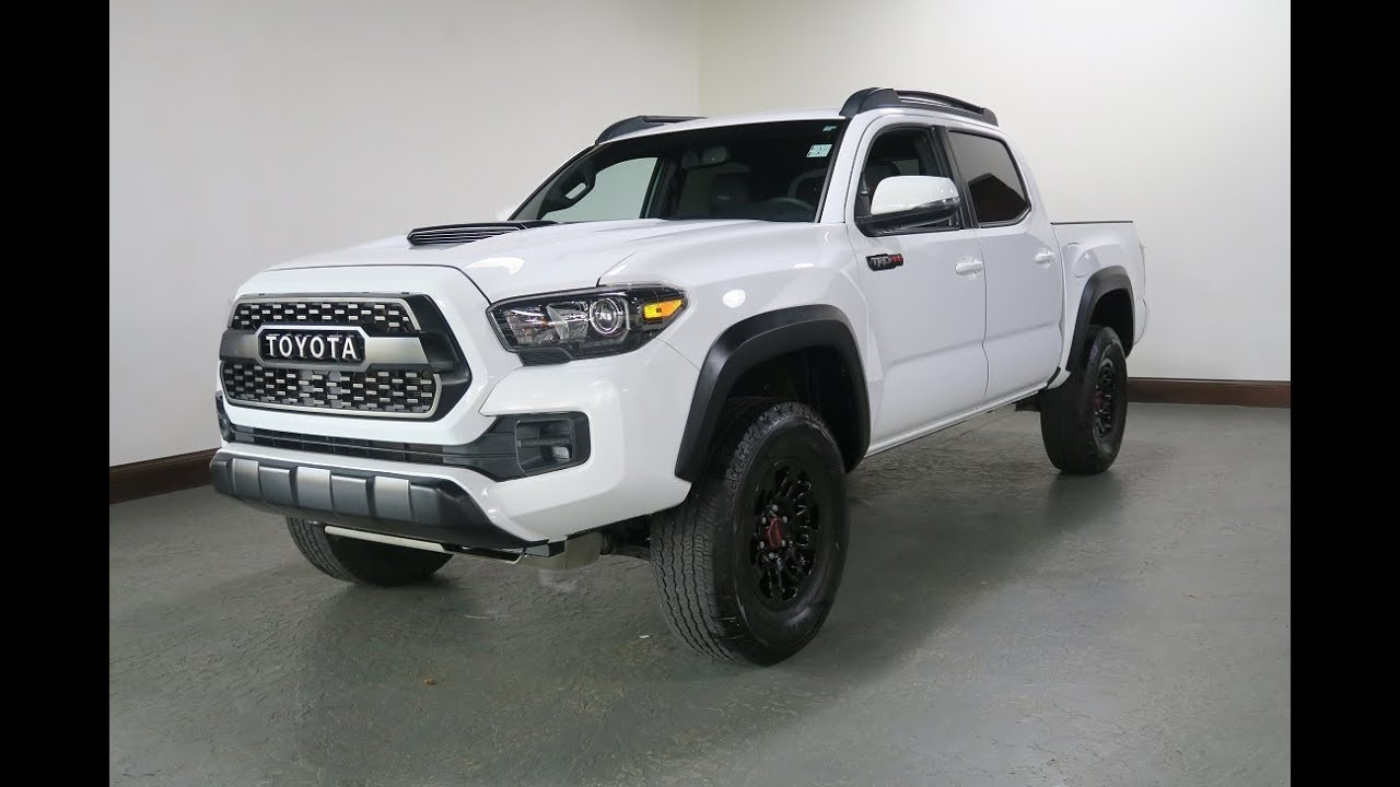 2017 toyota tacoma trd pro for sale in canton ohio jeff 39 s motorcars youtube. Black Bedroom Furniture Sets. Home Design Ideas