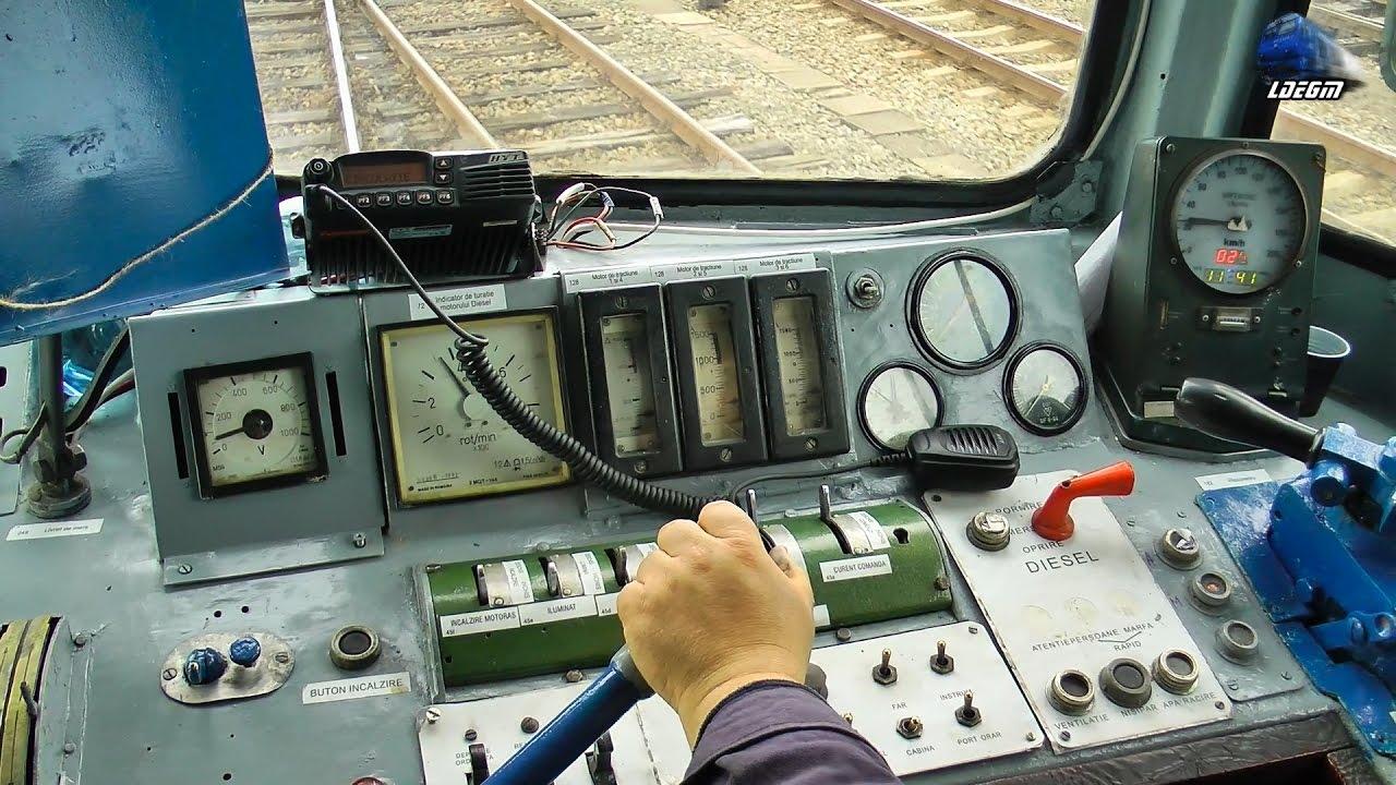 Post de Conducere Locomotiva 060-DA/LDE2100 Dieselok Dashboard/Instrumententafel