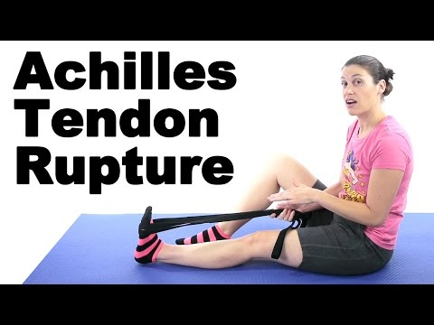 Achilles Tendon Rupture Stretches & Exercises - Ask Doctor Jo