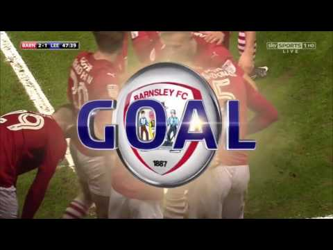 Barnsley 3-2 Leeds Utd Highlights (16/17)