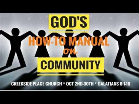 How to Make Jesus Happy - Community/The Church #2- Pastor Steve Kohler (Oct. 9 2016)