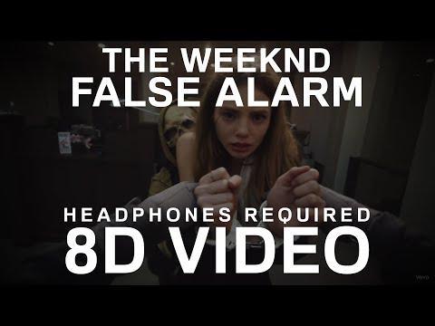 The Weeknd - False Alarm (8D Video)   8D UNITY