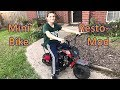 Monster Moto Mini Bike Build | The Resto Mod 212cc Engine Swap