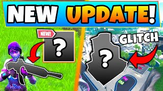 Fortnite Update: NEW WEAPON REVEALED, Tilted Glitch, Fortbyte 82! - 8 New Things in Battle Royale!